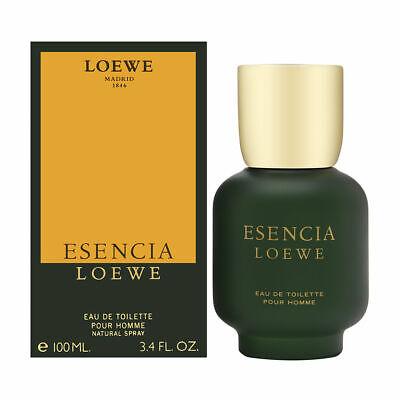 Esencia by Loewe for Men 3.4 oz Eau de Toilette Spray