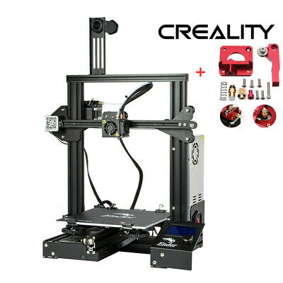 Creality Ender 3 3D Printer OSHW Certified 220X220X250mm + Extruder Drive Gifts