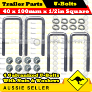 Trailer U Bolts Hot Dip Galvanised in all sizes Arundel Gold Coast City Preview