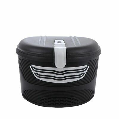 Gran Capacidad Plástico Cesta Para Eléctrico Scooter Antirobo Nuevo