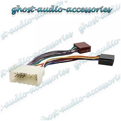 ISO Wiring Harness Connector Adaptor Stereo Radio Lead loom for Hyundai Trajet