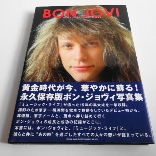 BON JOVI Unforgettable Days JAPAN PHOTOBOOK w/OBI