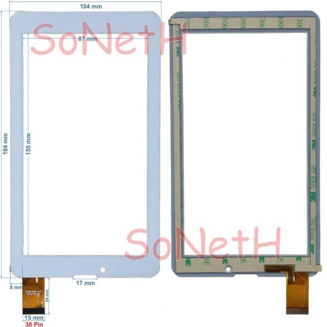 "Touch screen Archos 70c Xenon 7,0"" Glass Digitizer White"