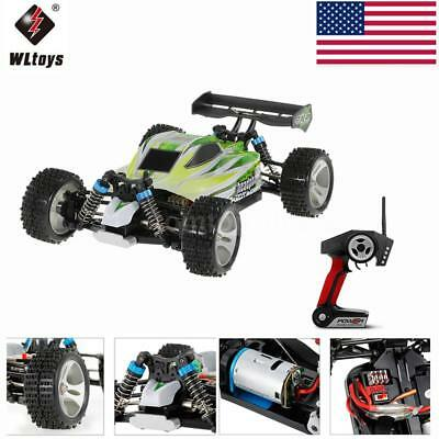 WLtoys A959-B 2.4G 1:18 4WD 70KM/H Electric Off-Road Buggy RC Car Best Gift