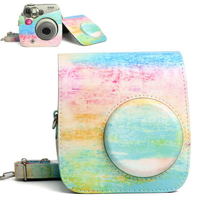 For Fujifilm Instax Mini 7S Polaroid 300 Film Camera Carrying Bag Case Cover