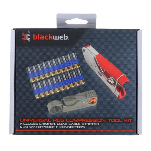 Blackweb Universal RG6 Compression Tool (new)