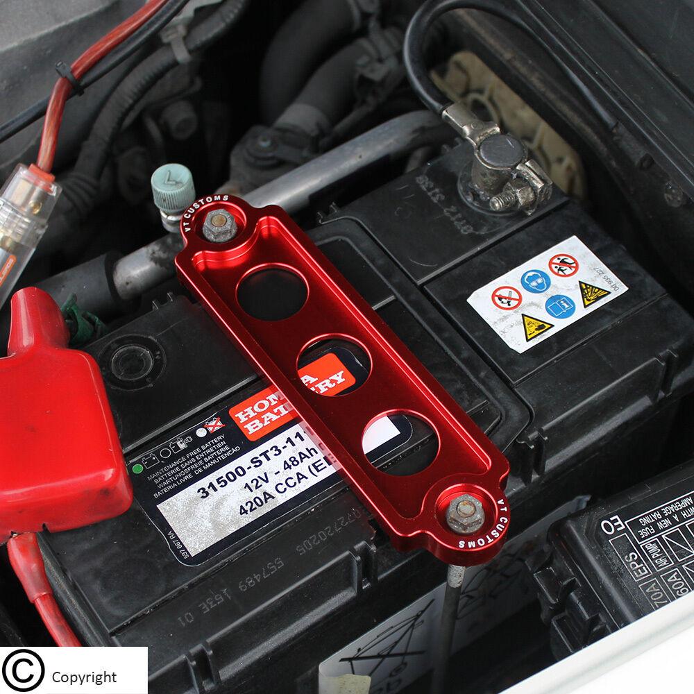 Good JDM Battery Tie Down Bracket Anodized Aluminum For Honda Civic EK EK4 EK9  Type R