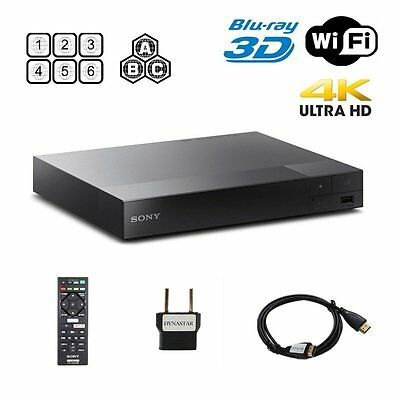 Sony BDP-S6500 Region Free DVD and Region ABC Blu-Ray Disc Player- 4K upscalling