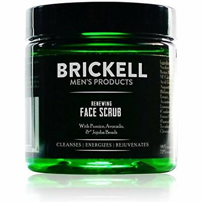Brickell Men&rsquos Scrubs Renewing Face For &ndash 4 Oz Natural &amp Organic