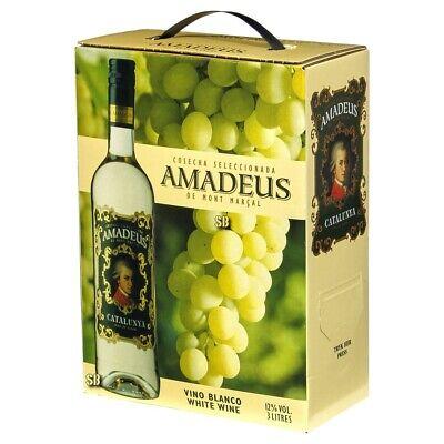 Amadeus Blanco Spanischer Weißwein 3L Bag in Box BiB 11,5% vol