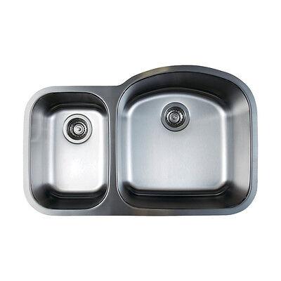 Reverse Bowl Sink - Blanco 441262 Stellar 1.6 Reverse Bowl Stainless Steel Kitchen Sink. FAC SEALED!