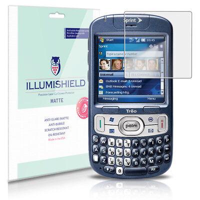 iLLumiShield Matte Screen Protector w Anti-Glare/Print 3x for Palm Treo -