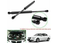 2pcs Bonnet Hood Lift Support Struts for BMW 5 Series E60 E61 525 528 530i 04-10