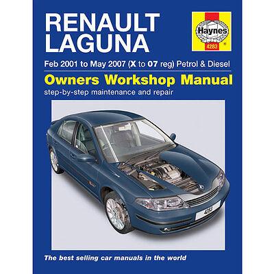 New Haynes Manual Renault Laguna 01-07 Car Workshop Repair Book 4283