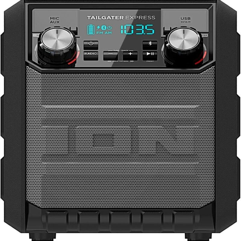 Ion IPA70 Tailgater Express Portable Bluetooth Party Speaker - 30 Hr Battery