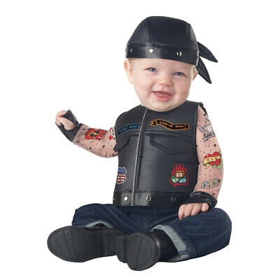 Baby Biker Born To Ride Halloween Costume