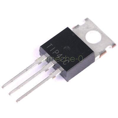 100pcs Tip41 Tip41c Npn Transistor 6a 100v To-220