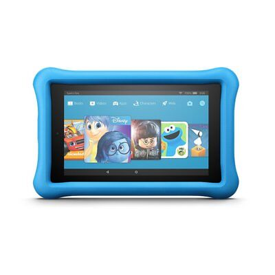 All New Amazon Fire 7 Kids Edition Tablet 7  Display  16 Gb  Blue Kid Proof  New