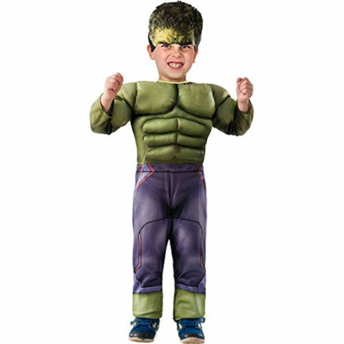 Avengers HULK MUSCLE Child Toddler Infant Costume 2-4 Brand New w Small Defect