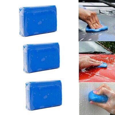 3 x Clay Bar Detailing Auto Car Clean Wash Cleaner Sludge Mud Remove Magic Blue