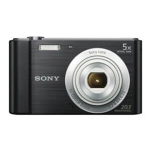 sony dsc-w800 cyber-shot digital camera,4gb card,case,usb cable 5.0 x zoom