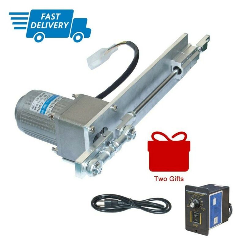 DIY 110/220V AC Reciprocating Linear Actuator Stroke 4in+AC Speed Controller