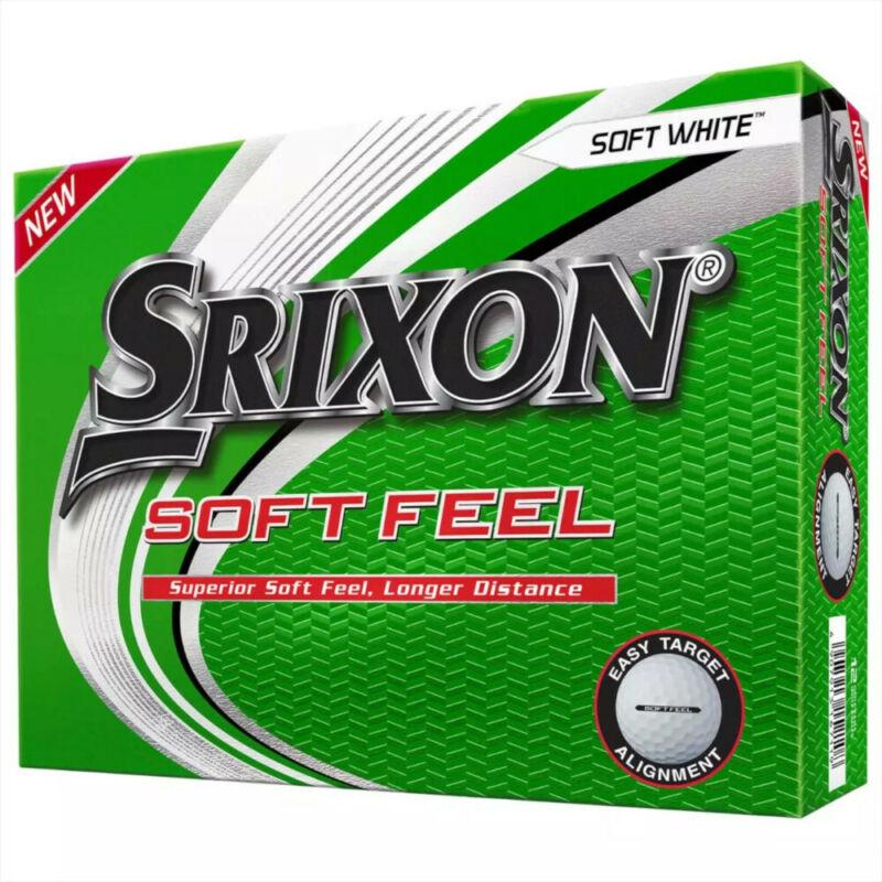 NEW Srixon Soft Feel 12 Golf Balls 2021 - Choose Color and Quantity