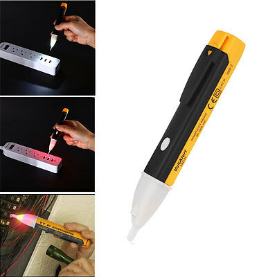 Ac Non-contact Electric Test Pen Voltage Alert Detector Tester Tool 901000v Lcd