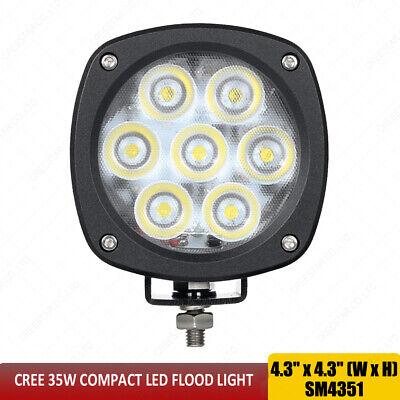Flood Light 35w For Case Backhoe 570n Crawler Dozer 1150k Wheel Loader 1021f