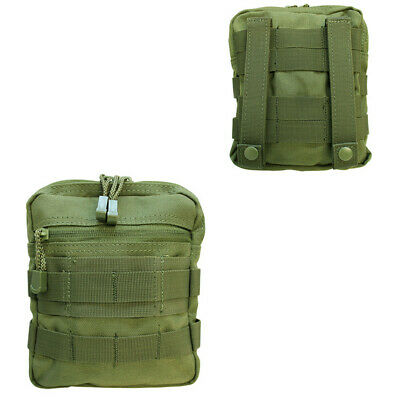 Design Carrying Pouch Case (Tactical MOLLE G.P Pouch Carrying Case PALS Multi-Purpose Pouch -OD GREEN )