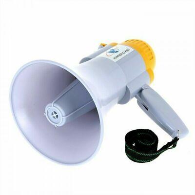 Megáfono Portátil Profesional Capacidad 200MT Grabadora de Voz Musical