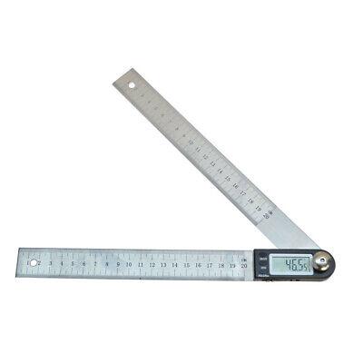 11 Electronic Digital Protractor Goniometer Angle Finder Miter Gauge Ruler