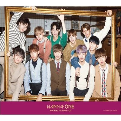 eldo WANNA ONE : 1-1=0 Nothing With You wine  [OFFICIAL] POSTER