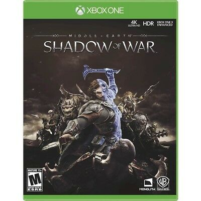Brand New Middle Earth  Shadow Of War For Xbox One   Fast Shipping