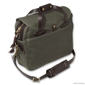 Filson Large Briefcase Computer Bag 70257 Otter Green