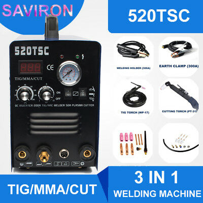 Tigmmaplasma Cutter 3 In 1 Functional Welding Machine Cutting Welder 110220v