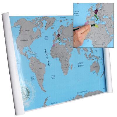 """Mappa del mondo da grattare """"Scratch World Map"""""""