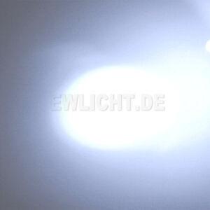 10 LEDs 5mm Weiß 18000 - 20000mcd LED Weiße Leuchtdiode + Zub 6V 9V 12V 14V 24V
