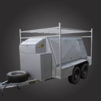 8x5 Tradesman Top Trailer with Compressor Box Campbellfield Hume Area Preview