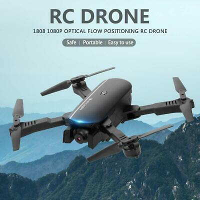 1808 WiFi FPV RC Drone Foldable Quadcopter w/ 4K Camera Optical Flow Positioning