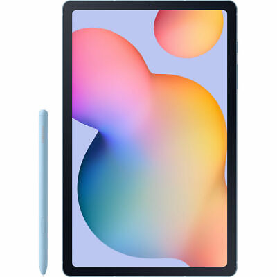 "Samsung Galaxy Tab S6 Lite 10.4""  64GB Octa-Core Wi-Fi Tablet with S Pen - Blue"