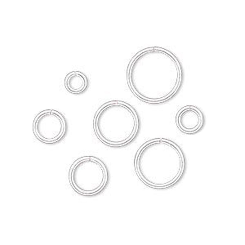20 Sterling Silver Filled Open Jump Rings 18ga - 4mm 5mm 6mm 7mm 8mm 9mm 10mm