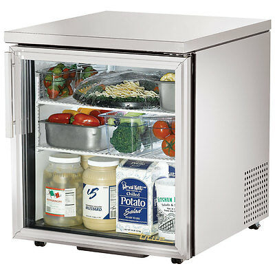 True Under Counter Refrigerator Tuc-27g