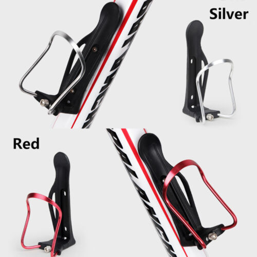 Road Bikes Aluminum Alloy Adjustable Cup Holder Drink Rack Bicycle Bottle Cages