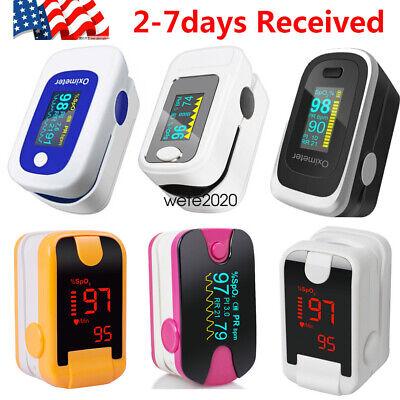 Oled Finger Pulse Oximeter Spo2 Pr Pi Respiration Rate Monitor W Alarm Fdace