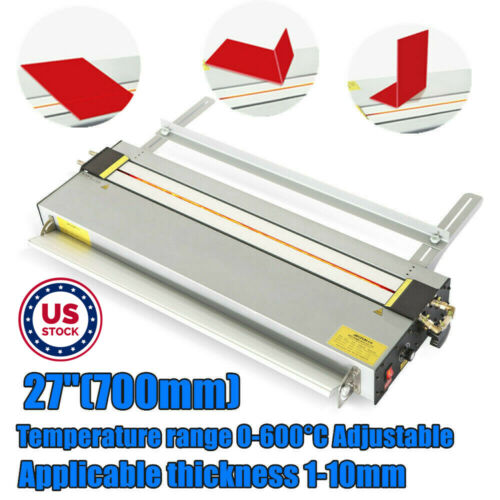 """USA 27"""" Acrylic Plastic PVC Heater Bending Machine with Infrared Ray Calibration"""