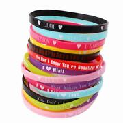 One Direction Bracelet Silicone
