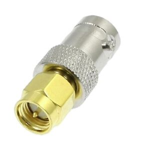SMA - Male to BNC - Female  Connector Adapter Connector - UK Seller