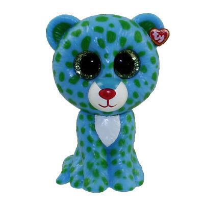 Ty Beanie Boos   Mini Boo Collectible Figure   Leona The Blue Leopard  2 Inch