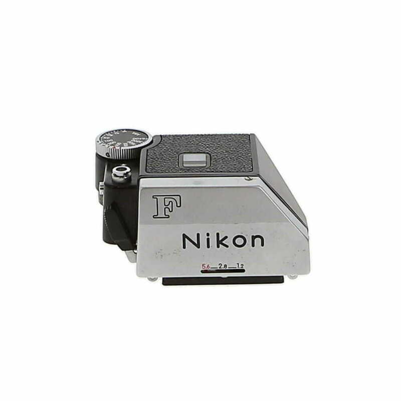 Nikon Photomic FTN Prism Finder, Chrome With Case; With Caps EX